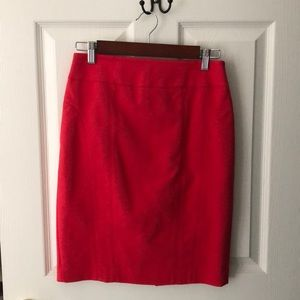 Express Magenta Pencil Skirt